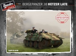 BergePanzer 38 Hetzer Late Limited Edition with Engine compartment + PE upgrade