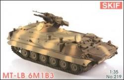 MT-LB 6M1B3 Soviet armored troop-carrier prime-mover