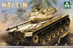 US Medium Tank M47 E/M 2 in 1