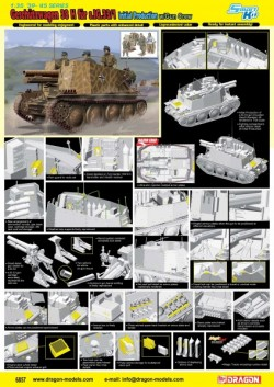 Geschützwagen 38 H für s.IG.33/1 Initial Production (Smart Kit)