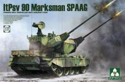 Finnish Self Propelled Anti Aircraft Gun ItPsv 90 Marksman SPAAG