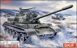 T-55A Soviet medium tank