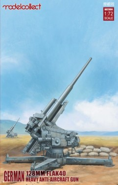 German 128mm Flak40 heavy Anti-Aircraft Gun