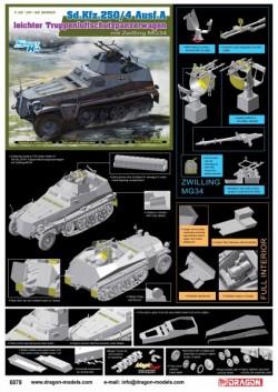 Sd.Kfz.250/4 Ausf A, leichter Truppenluftschützpanzerwagen