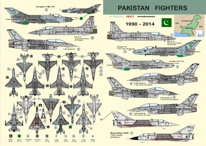 Pakistan Fighters 1990-2014