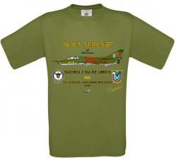 Tričko krátky rukáv Suchoj SU-22UM3-K - XL - Svetlo zelená