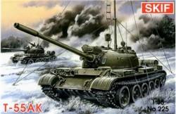 T-55AK Soviet commander tank
