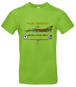 Tričko krátky rukáv Suchoj SU-22UM3-K - L - Svetlo zelená