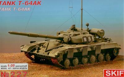 T-64AK Soviet commander tank