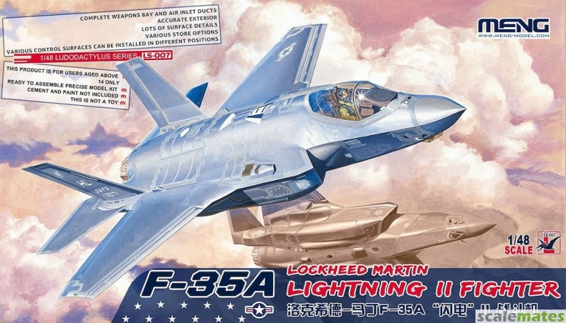 F-35A Lockheed Martin Lightning II Fighter