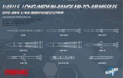 U.S. Long/Medium-range Air-to-air Missiles