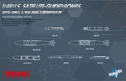 U.S. Satellite-guided Bombs