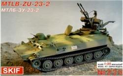 MT-LB with ZU-23-2