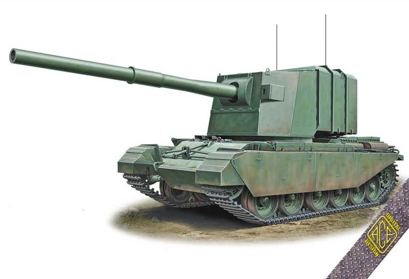 FV4005 183 mm on Centurion hull